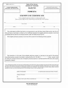 2008 form nj st 4 fill online printable fillable blank