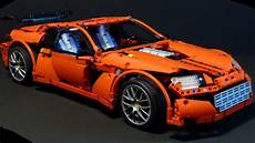 lego technic supercar rc with 2 speed gearbox