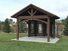 cedar city attached pergola with translucent corrugated roof western timber frame
