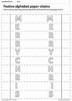 paper chains worksheets 15666 springboard stories krindlekrax