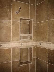 Bathroom Tile Shelf