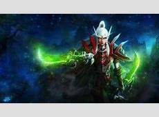 Word of Warcraft Blood Elf Rogue Girl Wallpapers HD