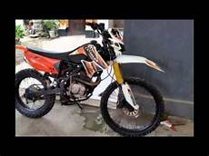 Revo Modif Trail by Modifikasi Motor Honda Trail Motorcross Basic Tiger
