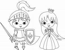 Ausmalbilder Prinzessin Und Ritter Kostenlose Malvorlage Prinzessin Ritter Und Prinzessin