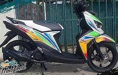 Soul Gt Modifikasi Ringan by 250 Modifikasi Motor Matic Terkeren 2019 Honda Yamaha