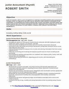 accountant resume sles qwikresume