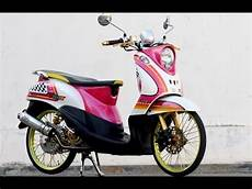 Fino Modifikasi by Modifikasi Motor Matic Yamaha Fino Bagus Nan Keren