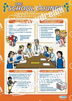 the school council pshe educational school posters