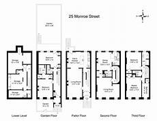 brownstone house plans 25 monroe 9 062915 brownstone town house floor plan