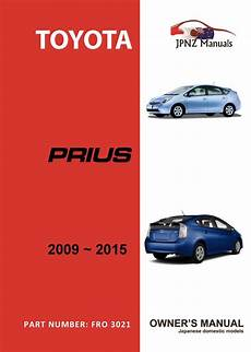 old cars and repair manuals free 2009 toyota highlander parking system toyota prius owners user manual 2009 2015 jpnz new zealand s premier japanese car