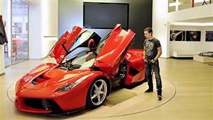 Jorge Lorenzo Visits Ferrari Talks About The LaFerrari