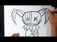 Come Disegnare Carattere Pagliaccio Graffiti