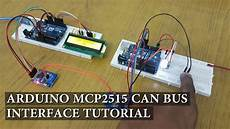 arduino mcp2515 can interface tutorial