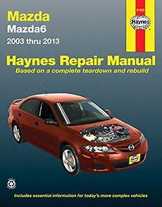 car repair manuals online free 2003 mazda b series electronic throttle control mazda6 2003 thru 2013 haynes repair manual divcomplete coverage for your mazda6 for 2003 thru