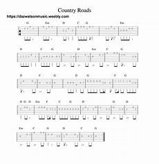 easy country guitar songs country roads easy guitar tab guitar tabs for beginners easy guitar tabs guitar tabs