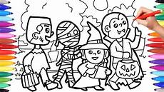 halloween coloring pages for kids trick or treat coloring pages halloween costumes coloring