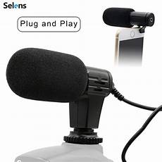 phone interview shopee 3 5mm professional microphone mini portable condenser phone video camera interview mic