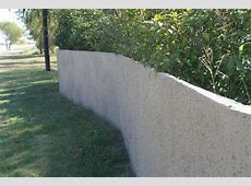 Spray in Place Concrete Fences: How to Get Just the Look