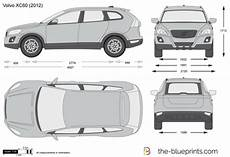 volvo xc60 dimensions the blueprints vector drawing volvo xc60