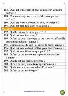 200 Questions Pour Votre Jeu Couples
