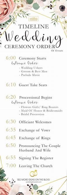 wedding program wedding ceremony order of events 5 sles of your wedding ceremony order of events