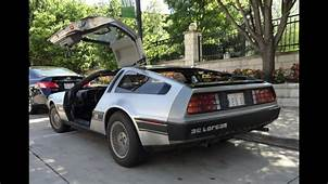 My Car Story With Lou Costabile 1981 DeLorean Motor