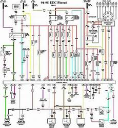 Ford Mustang Gt 5 0 L 1994 1995 Eec Pinout Wiring Diagram