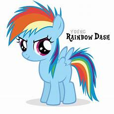 My Pony Malvorlagen Rainbow Dash Ponyyys Rainbow Dash