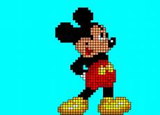 mickey pixel mickey mouse pixel desenho de matheus1569 gartic