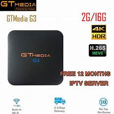 Gtmedia Amlogic S905x 16gb Wifi Bluetooth by Gtmedia G3 Android 7 1 2 Amlogic S905x 2gb 16gb Tv Box 2