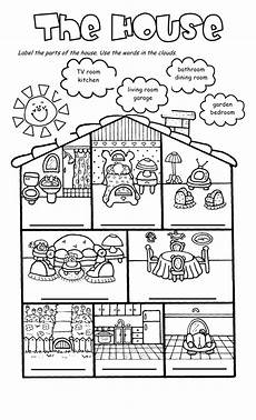 worksheets rooms 19037 271 free house flat rooms worksheets casa en ingles actividades de ingles ejercicios de ingles