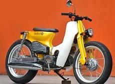 Modifikasi Honda Prima by Modifikasi Honda Prima Jadi C70 Keren Dan Modis