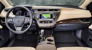 2020 Toyota Avalon Interior  Mazda
