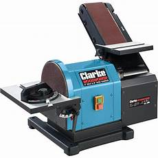 Clarke Cs48 Belt And Disc Sander 550w Table Angle 0 45