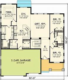 1800 square foot ranch house plans floor plans 1800 sq ft plan 89846ah craftsman ranch home