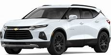 chevrolet size blazer 2020 all new 2019 blazer sporty mid size suv crossover