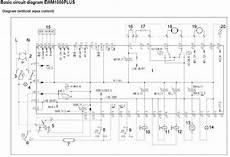 aeg washing machine wiring diagram service manual error code circuit schematic schema repair