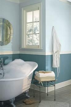 Wandgestaltung Badezimmer Farbe - zweifarbige wandgestaltung ideen und tipps f 252 r