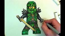 Lego Ninjago Malvorlagen Lloyd How To Draw Lloyd Ninjago Lego 100 Sketch