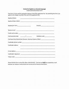 form southern illinois university credit card authorization form no addr