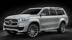 mercedes jeep 2016 render 2016 mercedes x class suv concept mbpickup