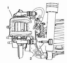 Vauxhall Workshop Manuals Gt Astra J Gt Brakes Gt Disc Brakes