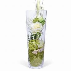 8712 geschenke deko vase pfingstrose weiss 40cm und