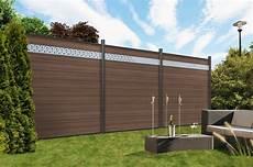 Wpc System Classic Sichtschutzelement Www Garten
