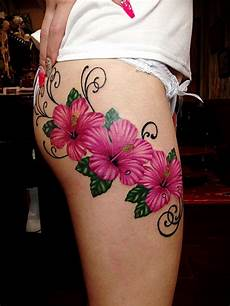 50 cool thigh tattoos that add gorgeousness to figure