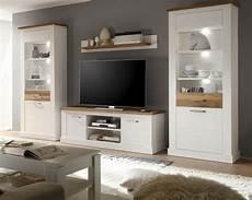 möbel wohnzimmer weiß wohnzimmer m 246 bel wohnwand wei 223 pinie nussbaum satin