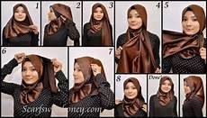 Contoh Gambar Cara Memakai Jilbab Modern Nurulatika14