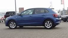 volkswagen new polo 2018 highline reef blue metallic