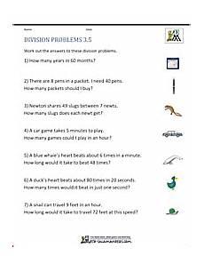 division worksheets grade 3