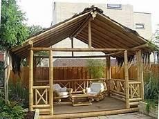 foto gazebo gazebo bambu unik contoh foto gazebo bambu
